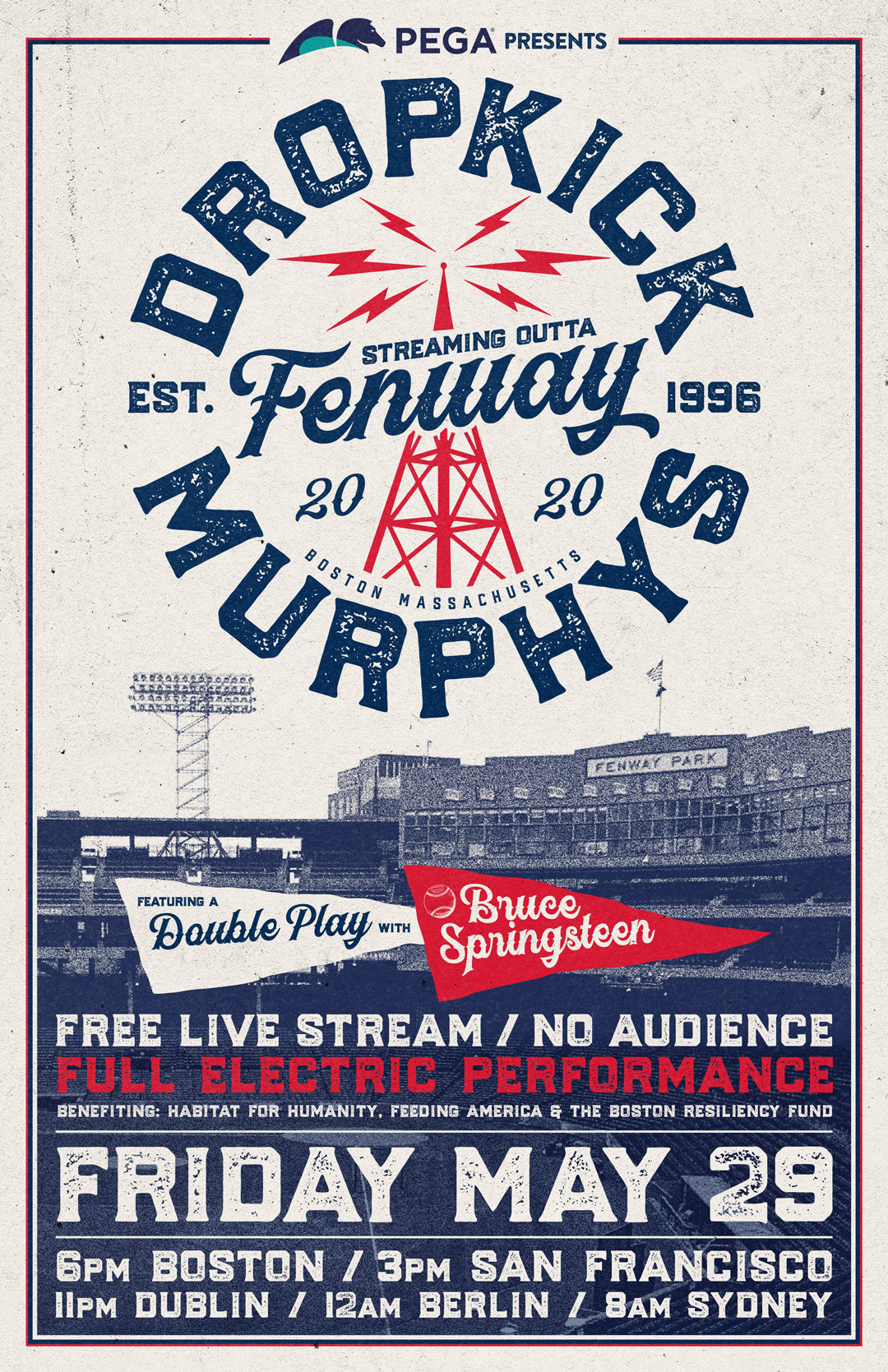 "Streaming Outta Fenway"" Dropkick Murphys to perform live charity ..."