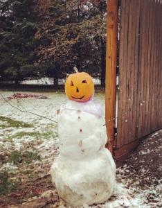 Ericak Gervais Snowmanpumpkin