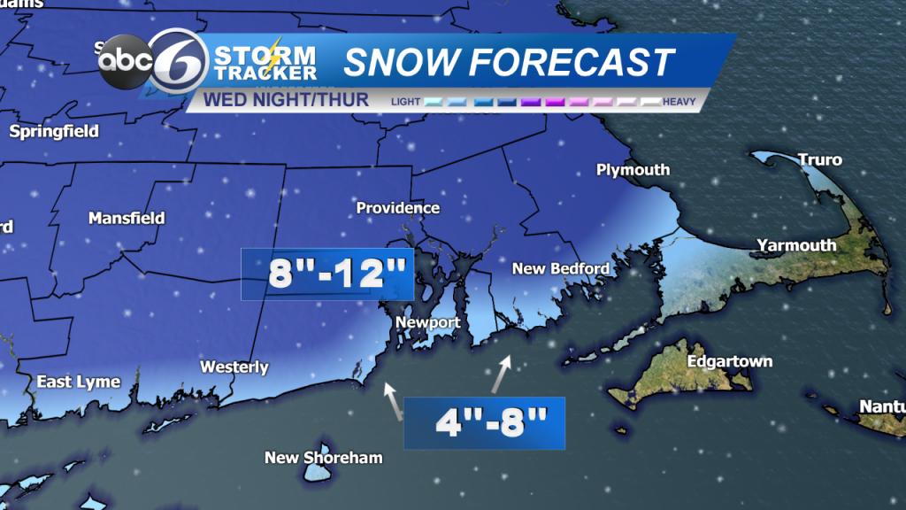 Snow Forecast Se Ma
