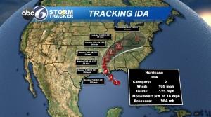 Ida Track
